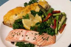 Fresh Atlantic Salmon Entree