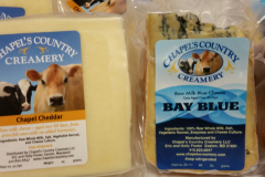 Wide Variety of Cheeses