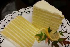 Lemon Smith Island Cake